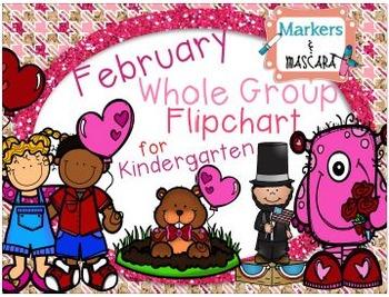 Flipchart: February Math Whole Group