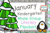 FREEBIE Flipchart- January Literacy Whole Group
