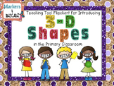 Flipchart Teaching Tool - 3-D Shapes (Review Pages Included)