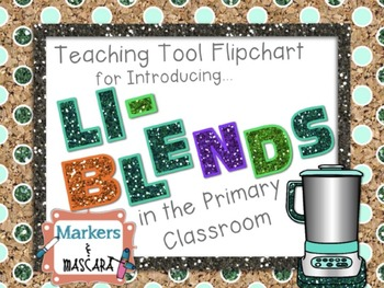 Flipchart - Teaching Tool - Ll Blends (Review Pages Included)