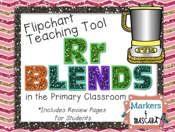 Flipchart - Teaching Tool - Rr Blends (Review Pages Included)