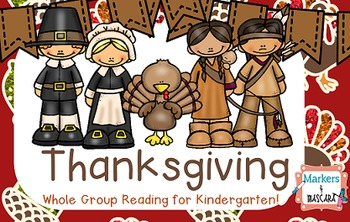 Flipchart: Thanksgiving Whole Group for Kindergarten