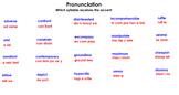 Flipchart:  Vocabulary Workshop Level A Unit 2