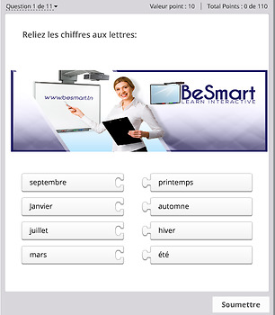 French for kids. ActivInspire Flipchart Interactive activities. Level A1_1