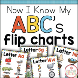 Alphabet Flipcharts {Now I Know My ABC's Series}