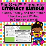 Flipgrid Reading and Writing Fliphunt Bundle for Distance