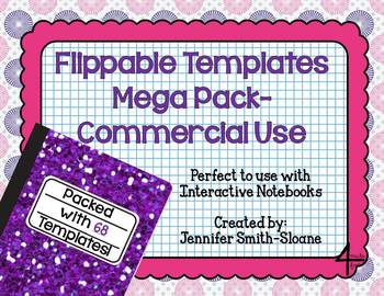 Flippable Template Mega Pack for Commercial Use (PDF and Editable)
