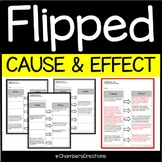 Flipped by Wendelin Van Draanen- Cause and Effect Practice
