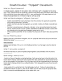 Flipped Classroom Info Sheet for Parents