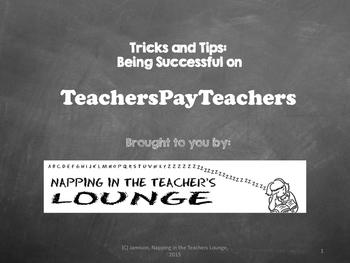 Making Money on TeachersPayTeachers