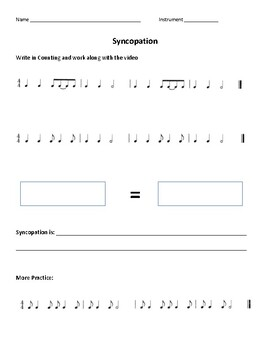 Flipped Classroom Rhythm Introductions