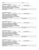 Flipped Classroom: Student conferencing form