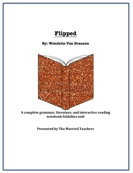 Flipped Complete Literature, Grammar, & Interactive Foldables Unit