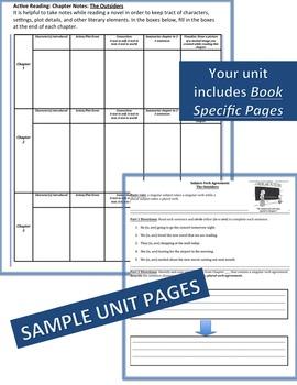 Flipped Complete Literature, Grammar, & Interactive Foldables Unit