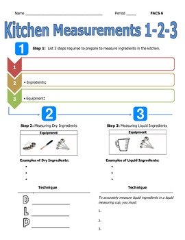 flipped classroom lesson assignment kitchen measurement for use with youtube. Black Bedroom Furniture Sets. Home Design Ideas