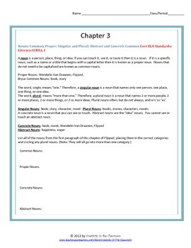 Flipped Novel Unit Plus Grammar
