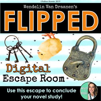 Flipped Novel - Wendelin Van Draanen - Digtial Escape Room