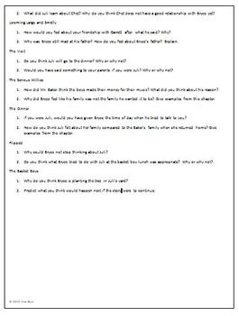 Flipped Reading Discussion Questions Activity