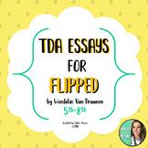 Flipped Novel - Wendelin Van Draanen - TDA Writing Prompt