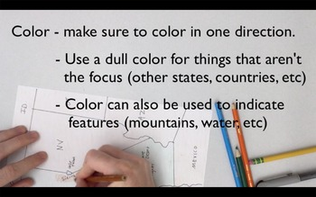 Flipped Video Tutorial - Map Making Basics (Geography)