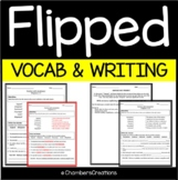 Flipped Vocabulary  Building and Writing Prompts - Wendelin Van Draanen