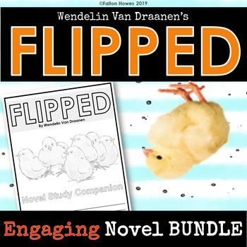 Flipped by Wendelin Van Draanen - Creative and Engaging Novel Unit