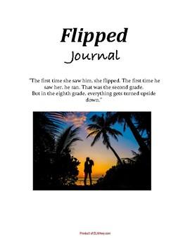 Flipped by Wendelin Van Draanen: Dual Entry Reading Journal