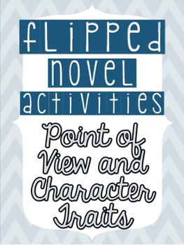Flipped (by Wendelin Van Draanen) Novel Activities - FREEBIE