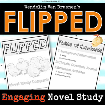 Flipped by Wendelin Van Draanen - Novel Study Companion - Chapter Questions
