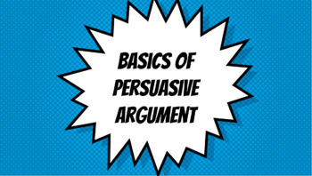 Flipped lesson for persuasive argument