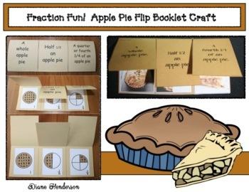 Flippin' Fraction Fun!  Apple Pie Craftivity
