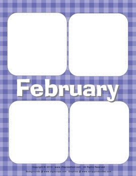 Flippin Fun {Crazy Calendar Matching}
