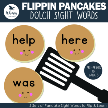 Flippin' Pancakes - 220 Dolch Sight Word Pancakes