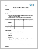 Flipping Cups Probability and Odds Activity