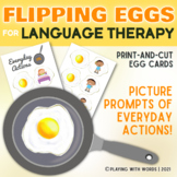 Flipping Eggs: A Language Therapy Game
