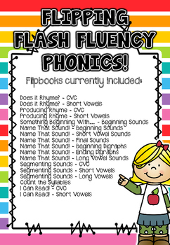 Flipping Flash Fluency Phonics