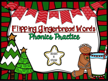 Flipping Gingerbread Words
