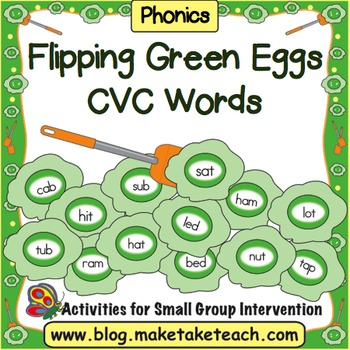 CVC Words - Flipping Green Eggs