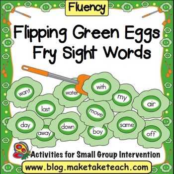 Flipping Green Eggs- Fry Sight Words