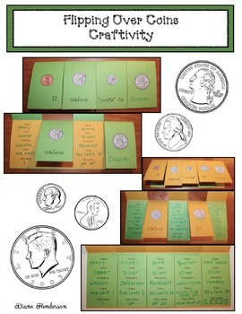 Flipping Over Coins Craftivity