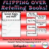 Flipping Over Theodor Geisel Stories - 8 Retelling Companion Flip Books March