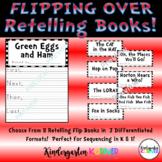 Flipping Over Dr. Seuss - 8 Retelling Flip Books Sequencin