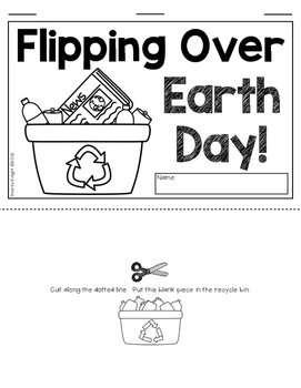 Flipping Over Earth Day!  {Two Differentiated Flip Books for K-3}