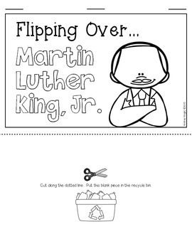 MLK, Jr. / Dr. King (A Biography Project for Primary Children)