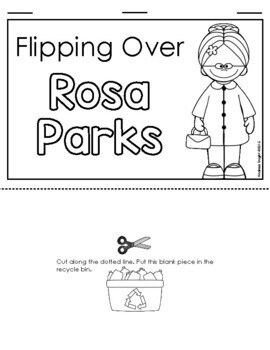 Flipping Over Rosa Parks!  {An Informational Flip Book for Grades 1-2}