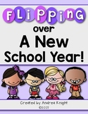 Flipping Over a New School Year!  (A No-Prep Back to School Flip Book)