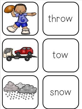 Flipping Ow (both sounds of Ow - a phonics unit)