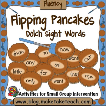 Sight Words - Flipping Pancakes! Dolch Sight Words