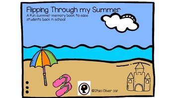 Flipping Through my Summer Memory Book