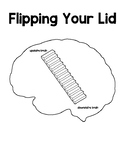 Flipping Your Lid SEL Activity Coloring Page